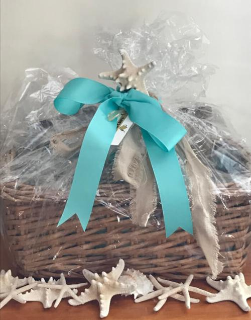 Tea Gift Basket by Susie - Beach, Sand, and, Sea