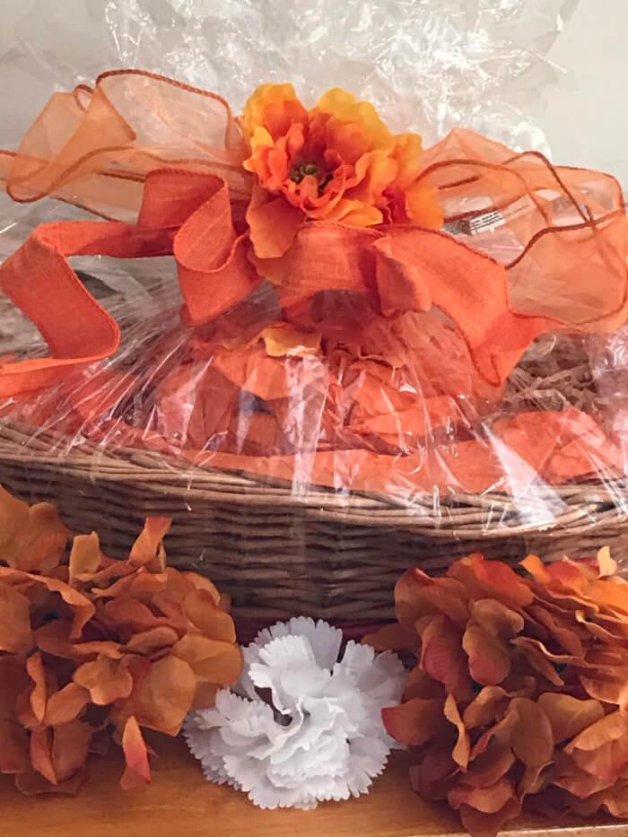 Tea Gift Basket by Susie - Orange Blossom