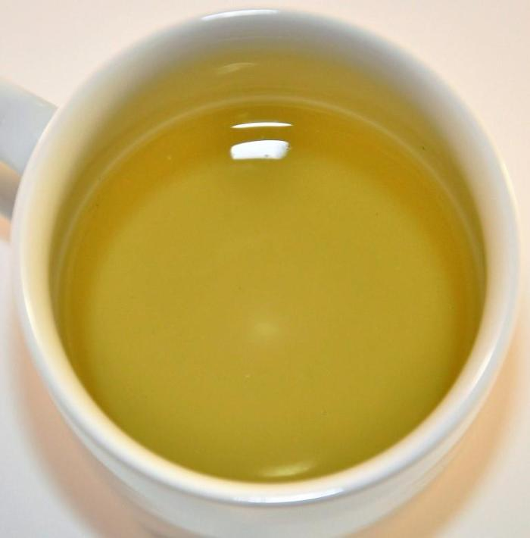 Organic Lemongrass Tea - Infused White Mug