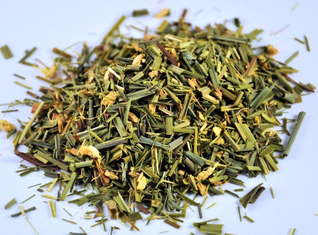 Organic Lemongrass Tea - Just Poured from Embassy House Tea Pouch