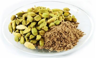 Organic Tea Production - Dried Cardamom