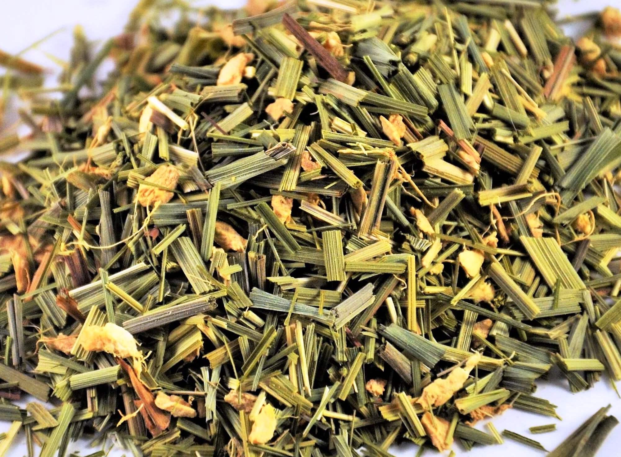 Lemongrass Tea Blended With Ginger