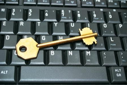 Data Security Key and Keyboard