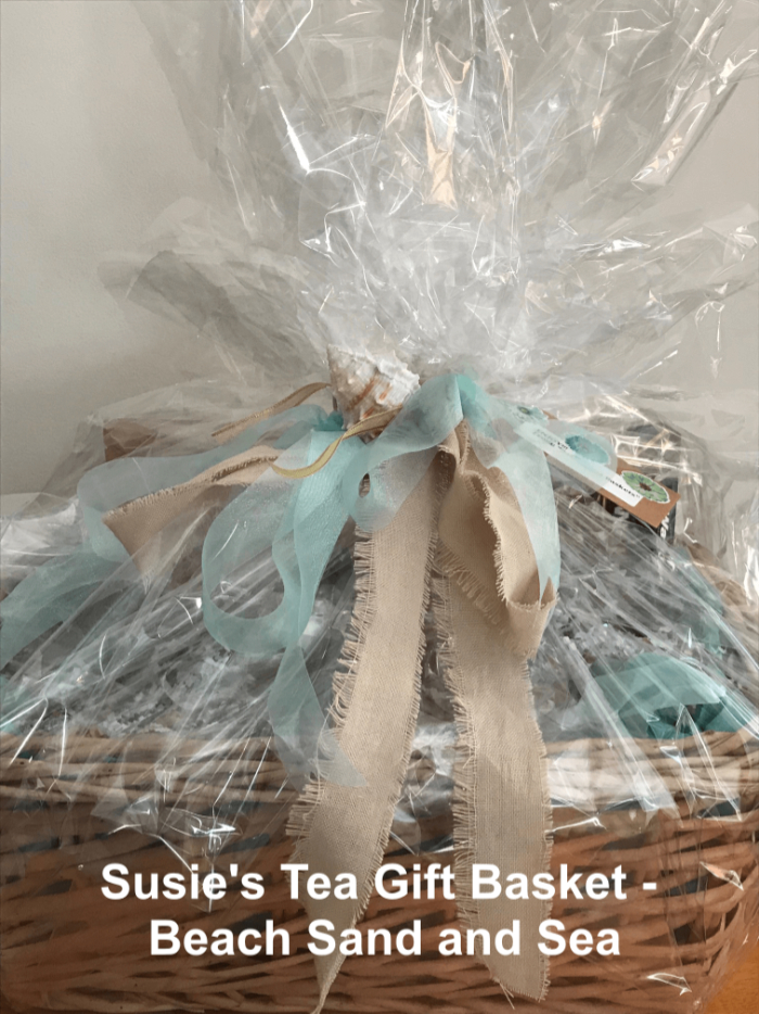 Tea Gift Basket by Susie - Beach, Sand, and Sea