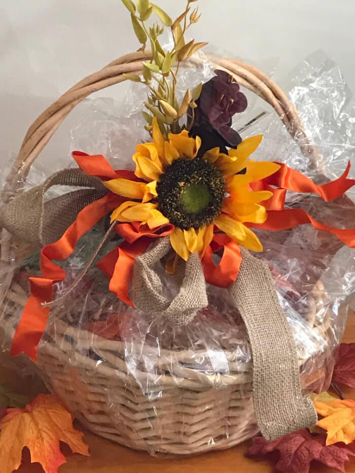 Tea Gift Basket by Susie - Foliage Blossom