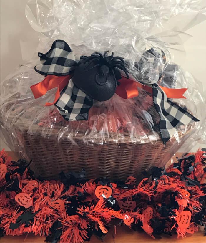 Tea Gift Basket by Susie - Haunted Halloween